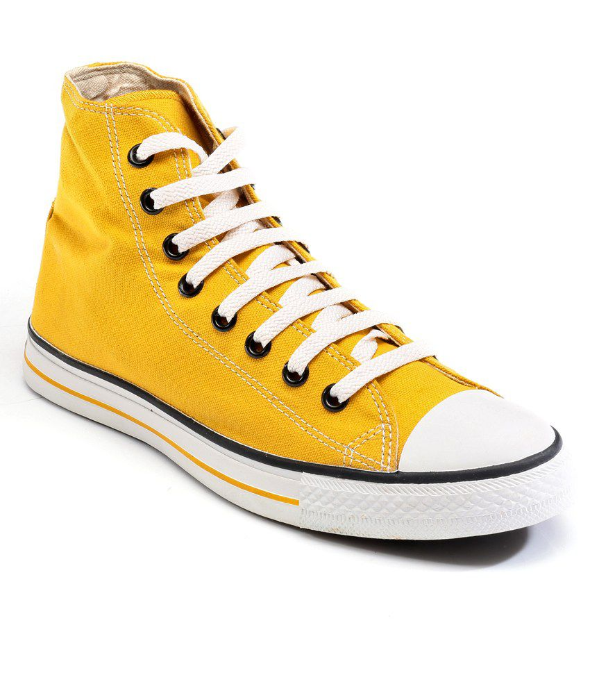 Converse Yellow Casual Shoes Price in India- Buy Converse Yellow Casual  Shoes Online at Snapdeal d82a7f4ae
