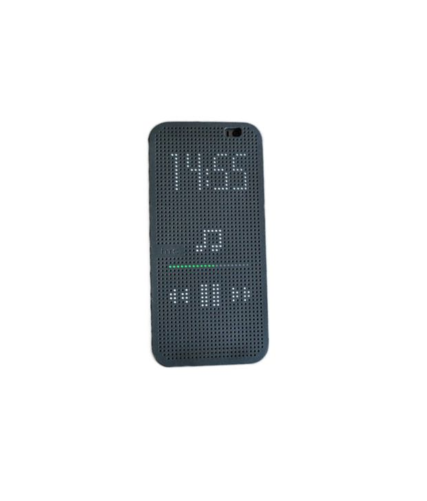 buy popular b4eda 7be74 Imported Softy Dot View Flip Cover For Htc Desire 816