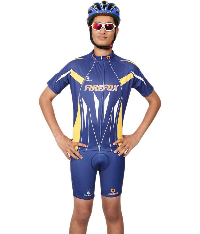 Triumph-firefox Cycling Apparel - Jerseys For Men/women