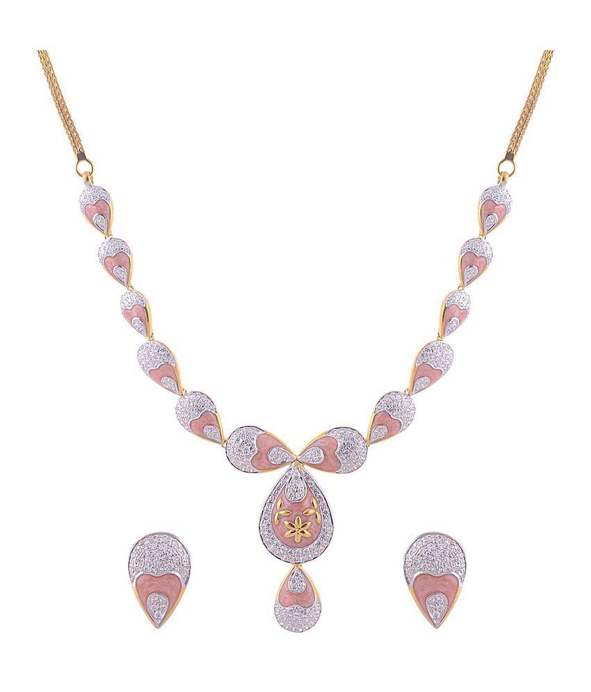 Sai Shagun Jewels Simple Necklace Set