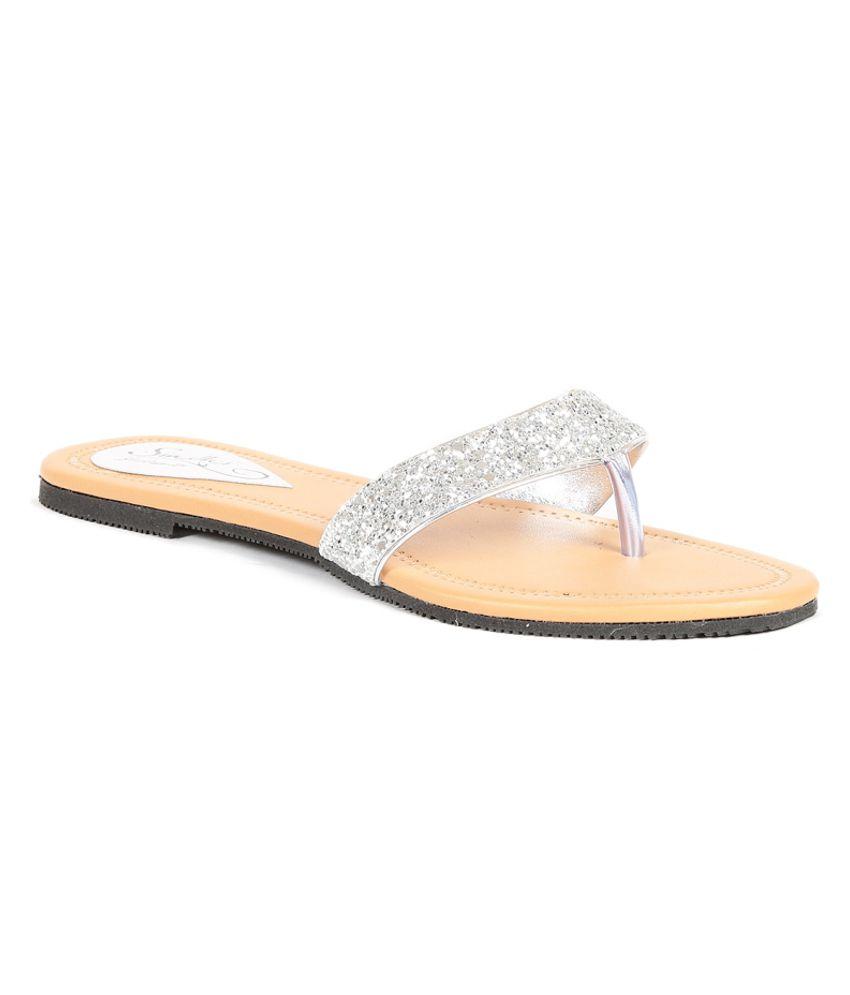 sindhi footwear silver flat price in india buy sindhi