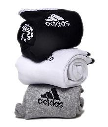 Addidas Ankle Length Cotton Socks - Pack Of 3