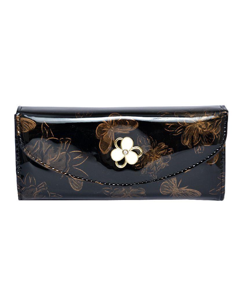 Deco Brown Designer Trendy Women's Wallet