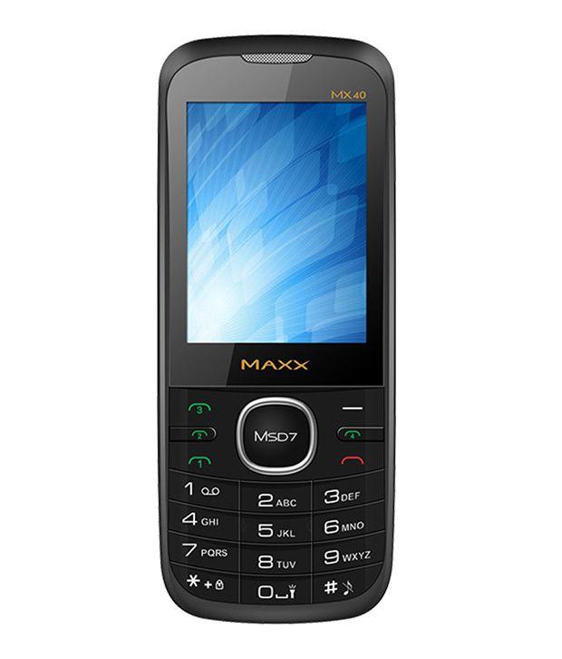 Maxx Mx40 Four sim Mobile