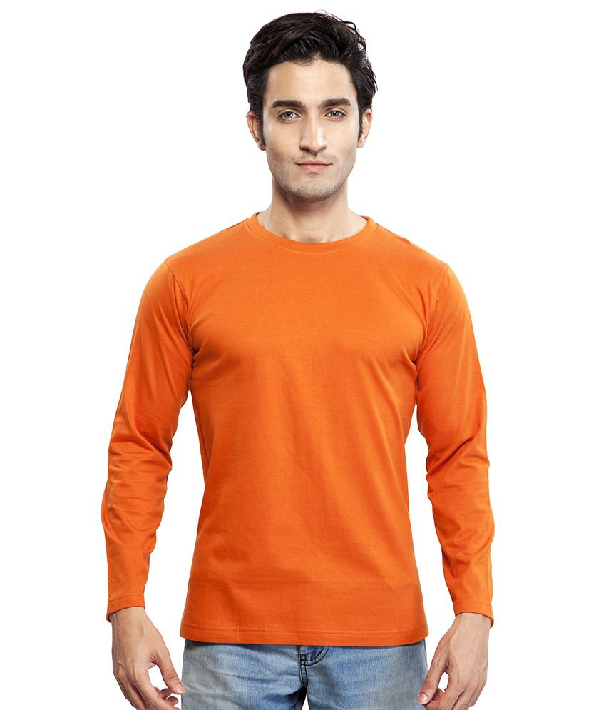Clifton Men's Basic T Shirt Full Sleeve R Neck