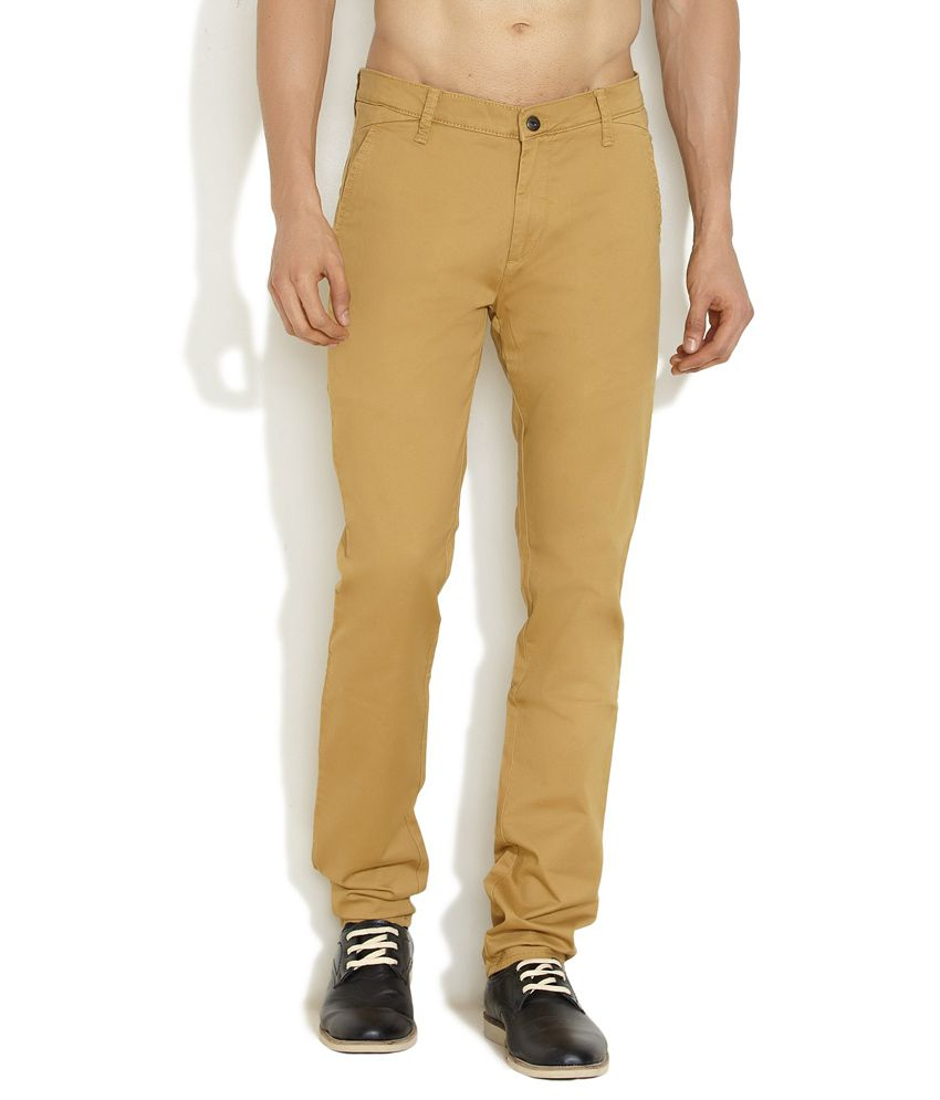 Lee Brown Casual Trouser