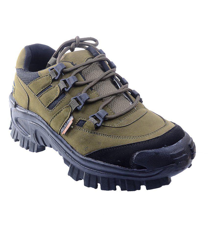 Porcupine Green & Black Boots