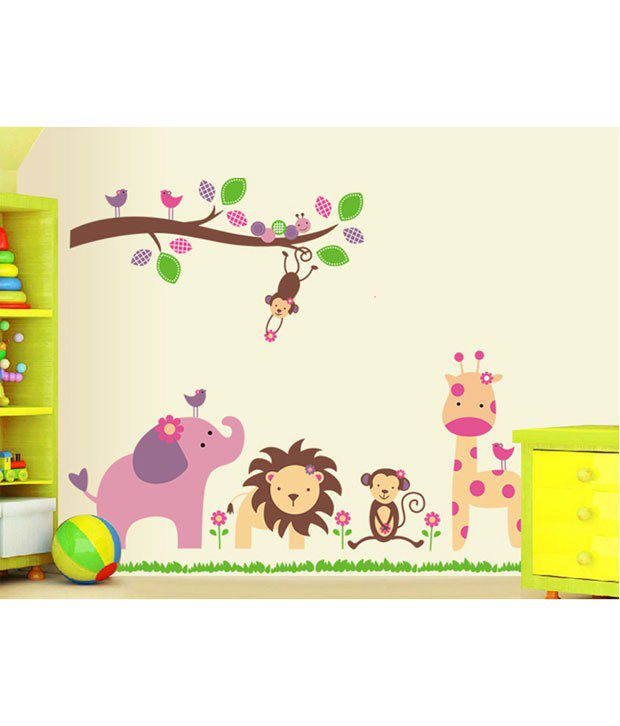 Awesome Uberlyfe Nursery Wall Sticker Decals For Boys And Girls Childrenu0027s Wall  Decor Art Sticker Decals ... Part 31