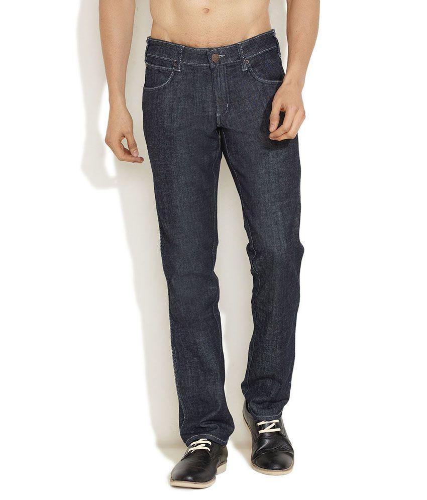 Wrangler Black Rockville Essential Jeans