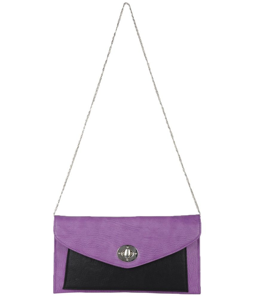 Glam Pink Others Magnetic Snap Button Sling Bag