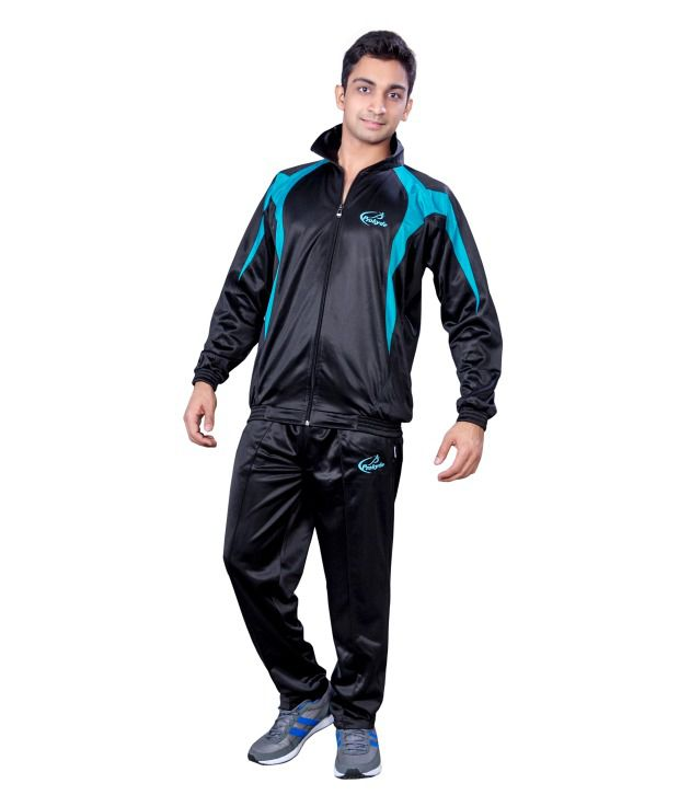 Prokyde Black And Blue Tracksuit