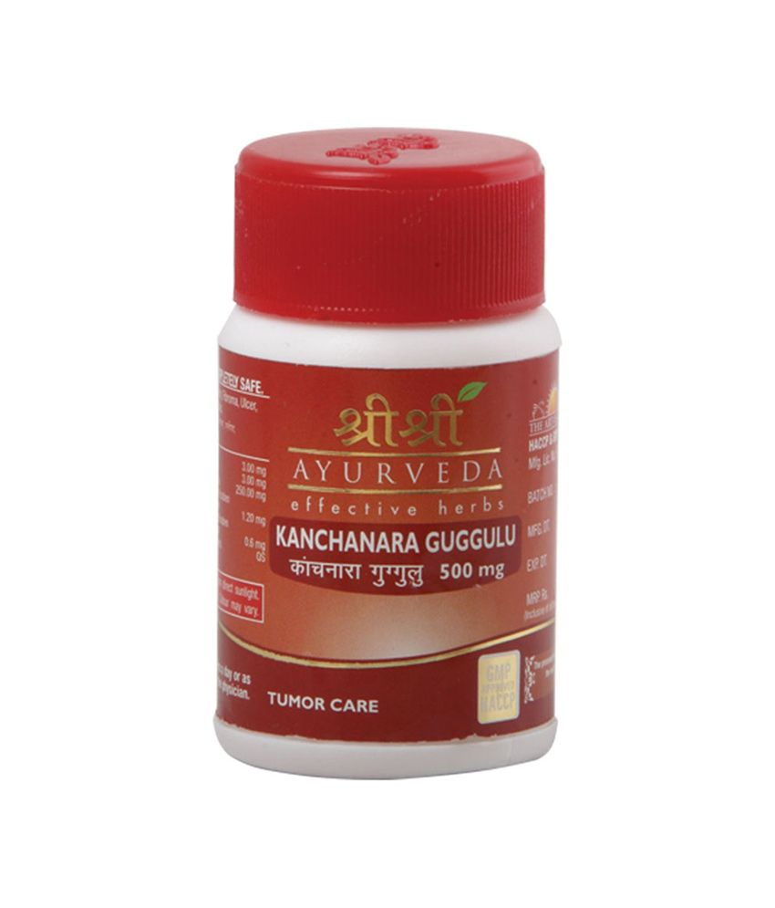 Sri Sri Ayurveda Kanchanara Guggulu Pack Of 30 Tabs- Tumor Care-