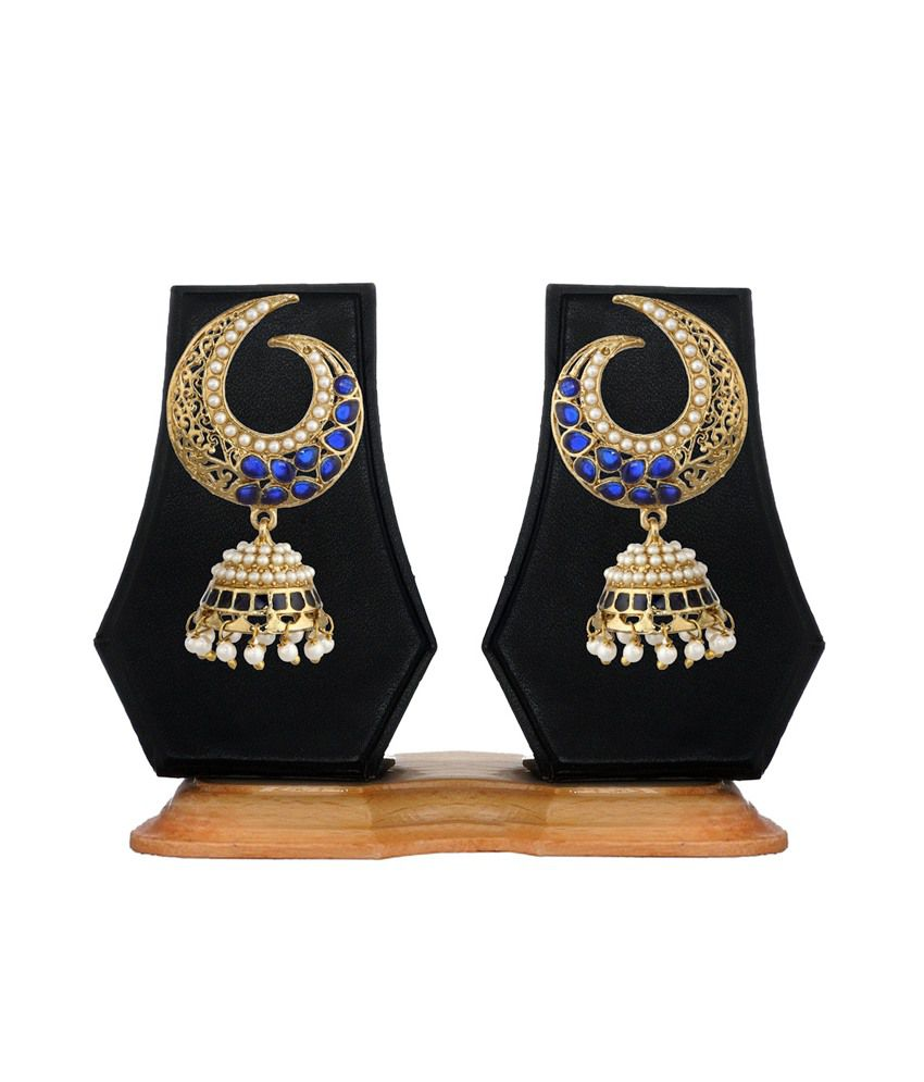 Zaveri Pearls Multicoloured Jhumki Earring