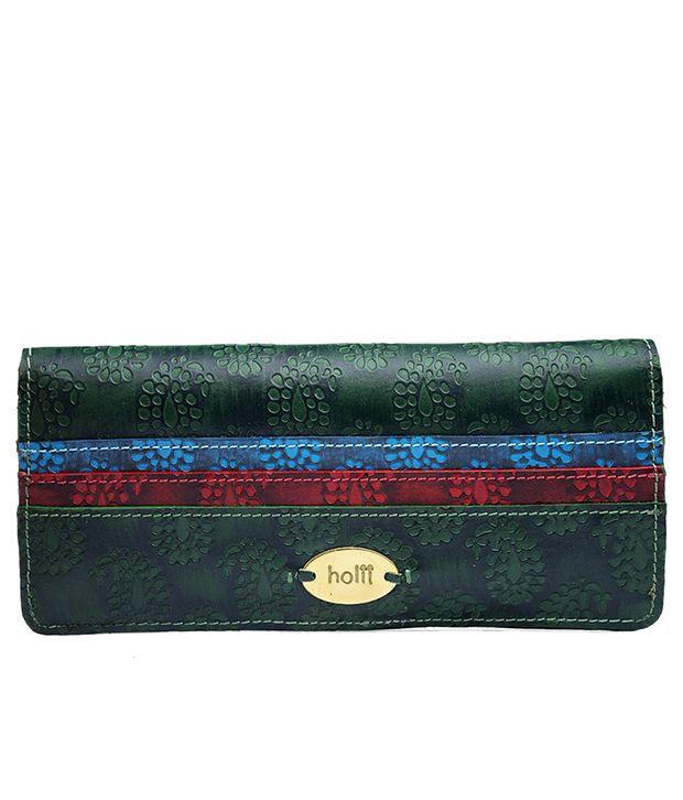 Holii RADHA W2 green wallet bi fold