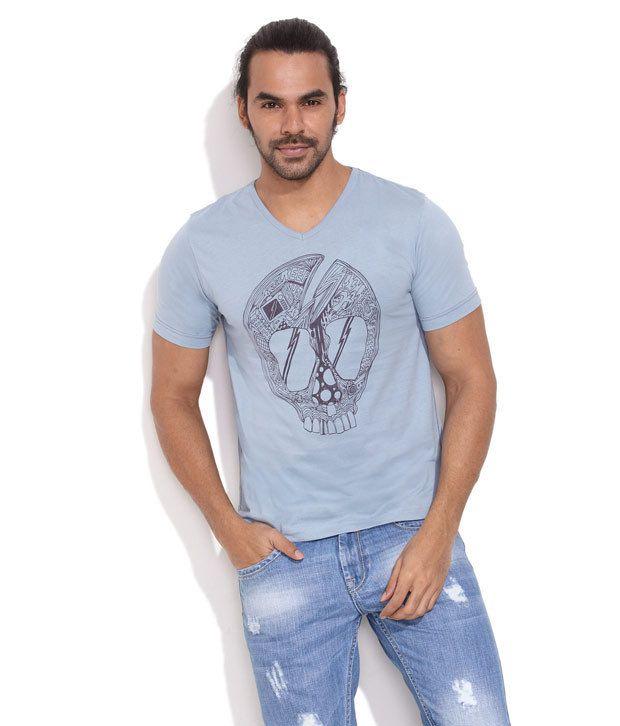 Rattrap Medium Blue Skulletor T-Shirt