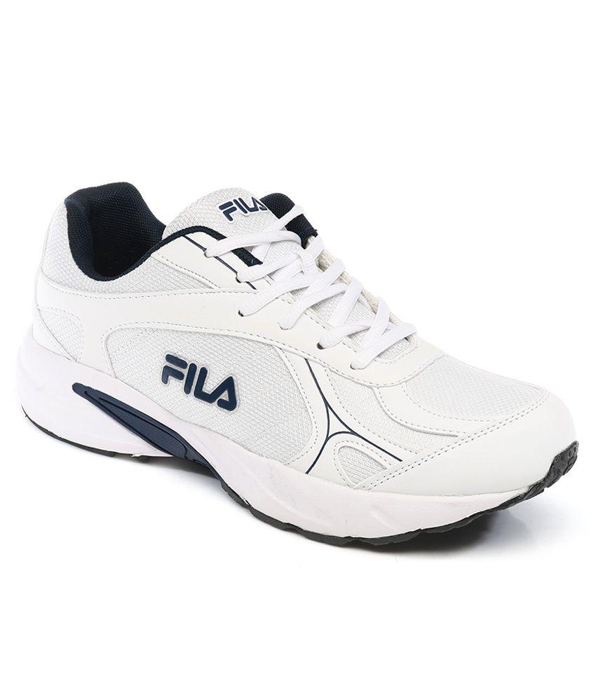 FILA WHITE SPRINT SPORTS SHOES