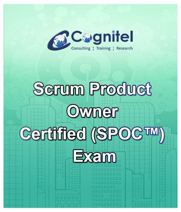 Scrum Product Owner Certified Spoc Online Course With