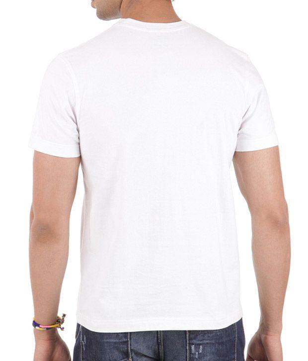 Yepme Jovi Lite Fire White T-Shirt