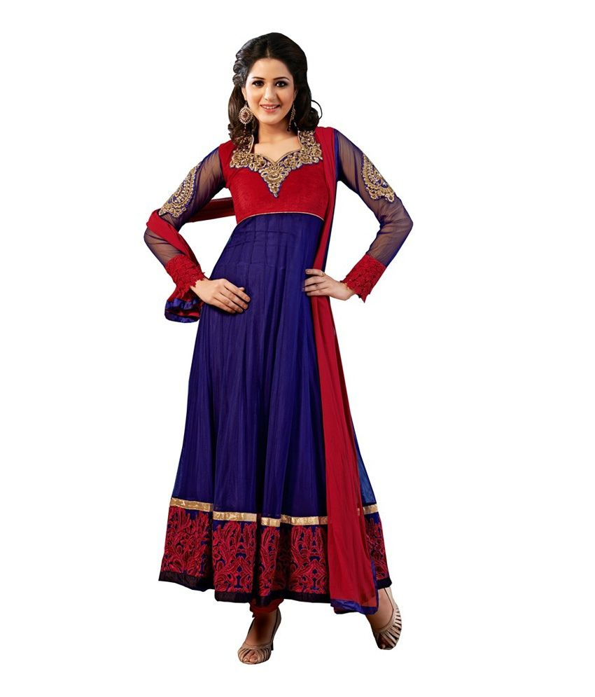 1b8aa1a4e4 Crazy Girl Net Kurti With Salwar - Stitched Suit - Buy Crazy Girl Net Kurti  With Salwar - Stitched Suit Online at Low Price - Snapdeal.com