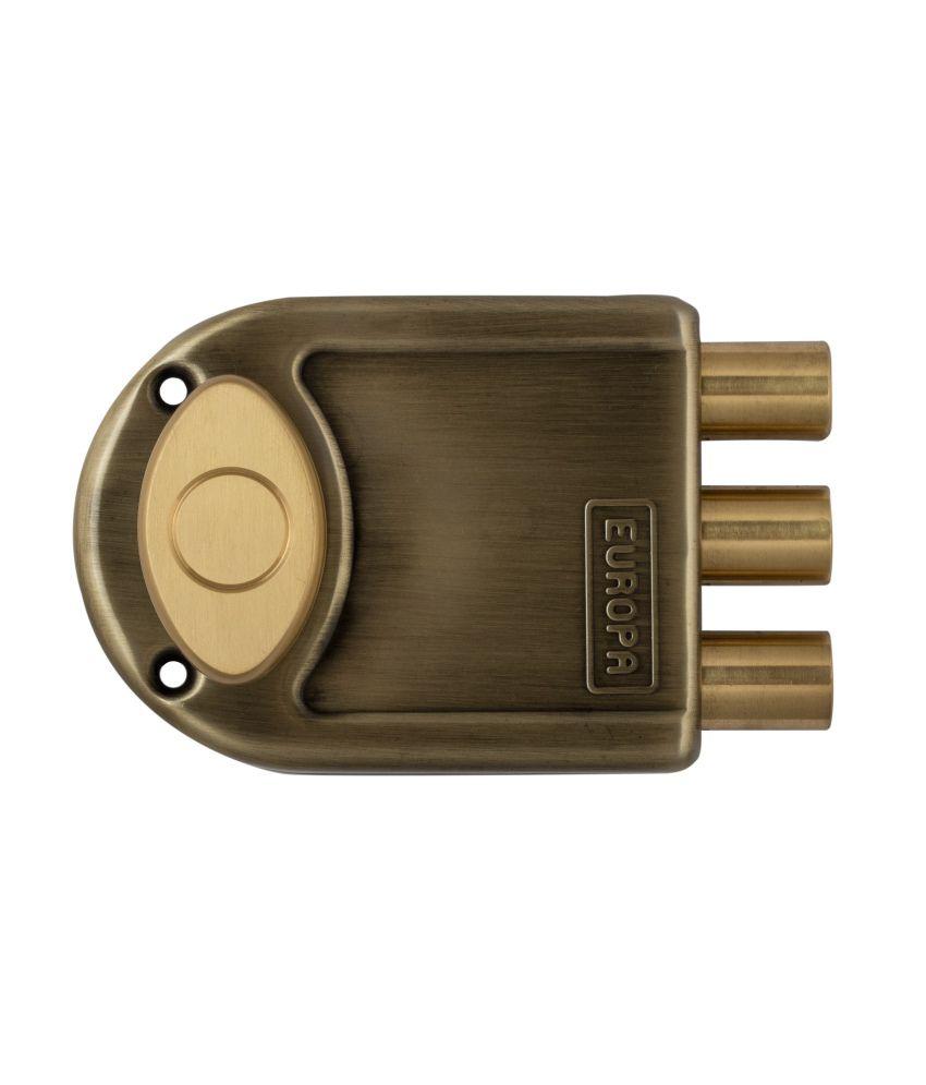 Buy Europa Dimple Key Main Door Lock 8013 Ab Online At Low