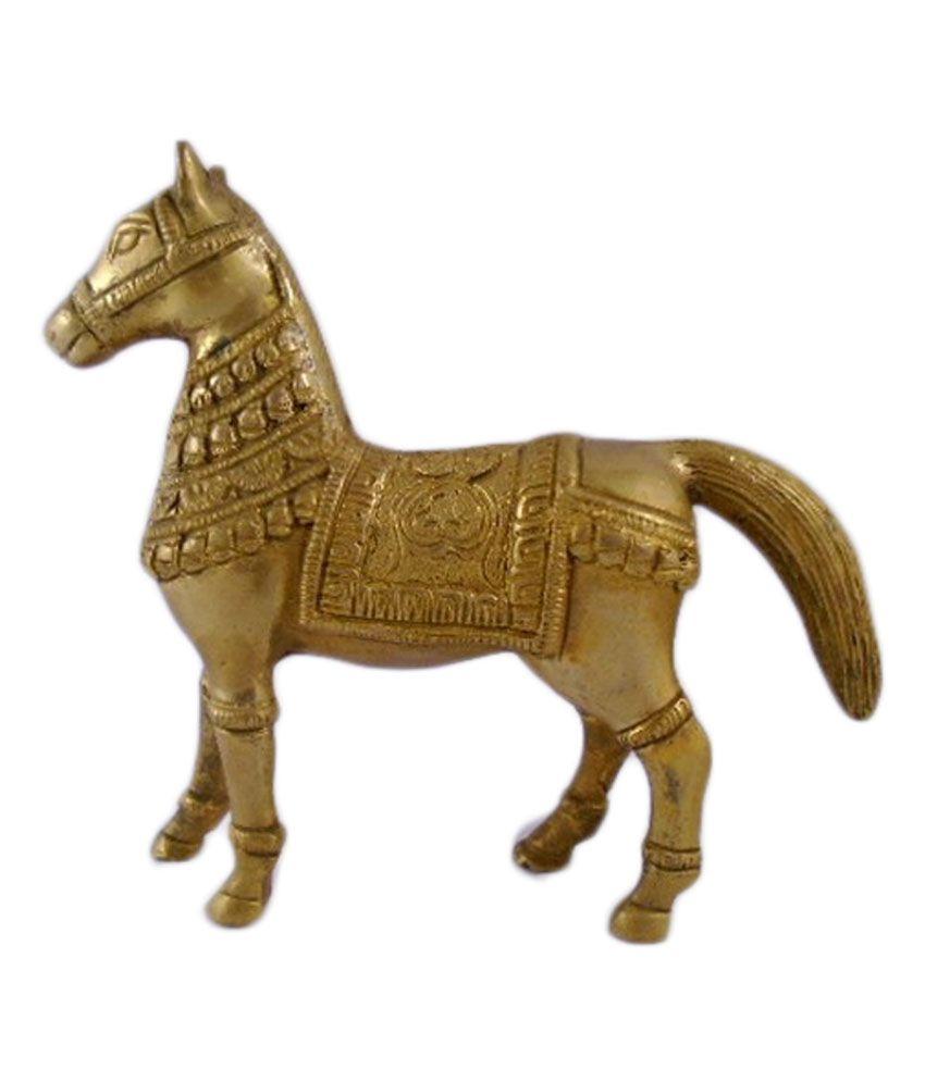 Heritagemax brass decorative horse statue buy heritagemax brass decorative h - Statue decorative d interieur ...