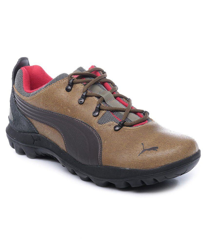 Puma Brown Lifestyle Shoes