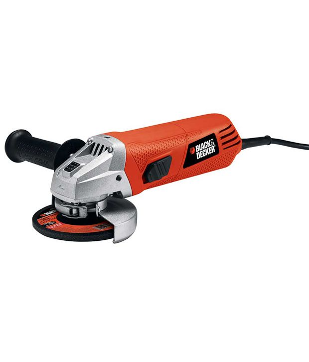 Black And Decker G720r 100mm Small Angle Grinder Wood