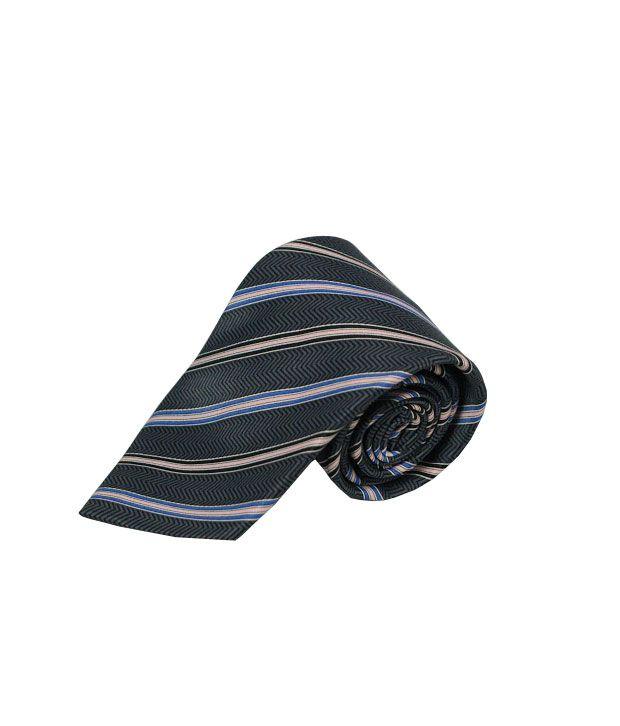 Wintex Grey Micro Fiber Skinny Ties For Men