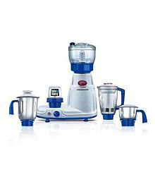 Prestige Deluxe Total LS Juicer Mixer Grinder White and blue