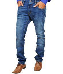Levis 511 Slim Fit Blue Stretchable Denim For Men