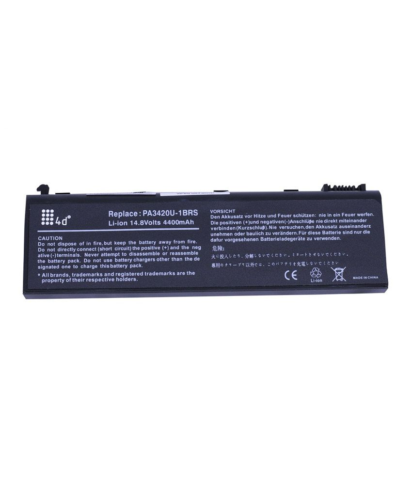 4d Toshiba L10-226 6 Cell Laptop Battery