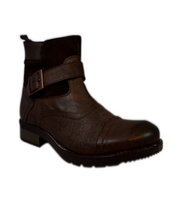 Footkraft Brown Boots