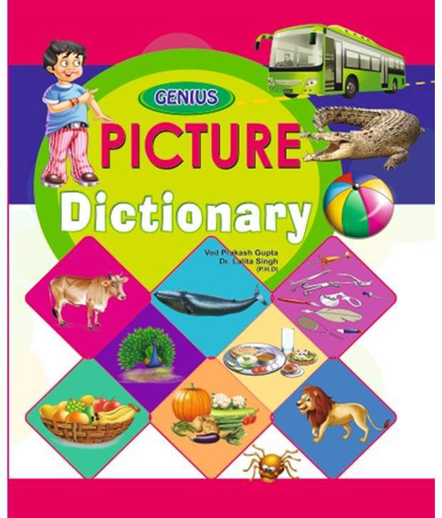 Genius Mind Publication Picture Dictionary - Set Of 10