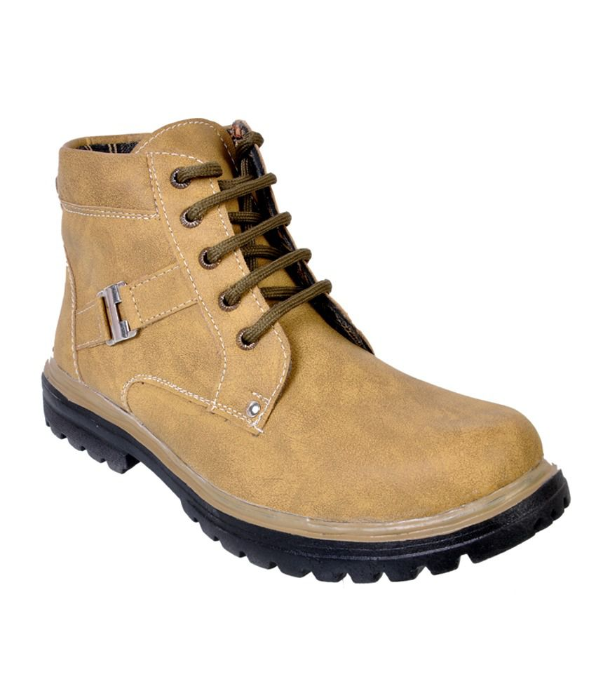 Wonker Tan Boots