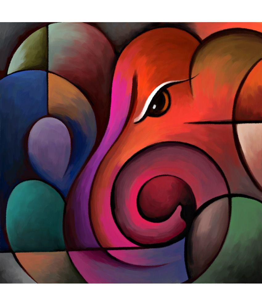 Art Factory Ganesha Canvas Painting Art Factory