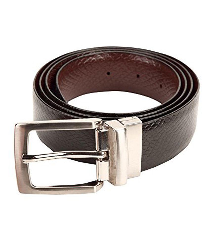 Clayton Black Leather Reversiblebelts