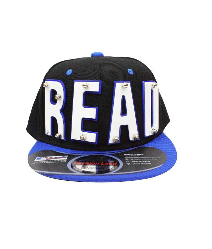 Takeincart Black Read 3d Snapback   Hiphop Cap - Buy Online   Rs ... df4a72d8a3bf