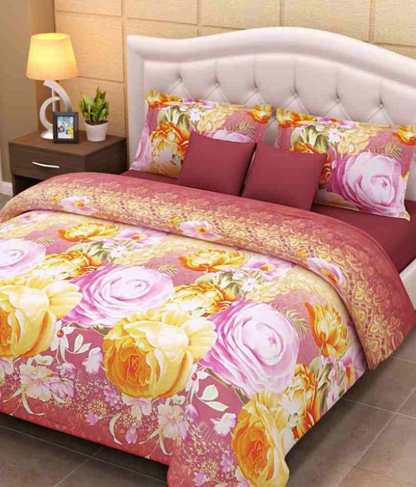 Home Creations Extra Soft 3d Bedsheet ...