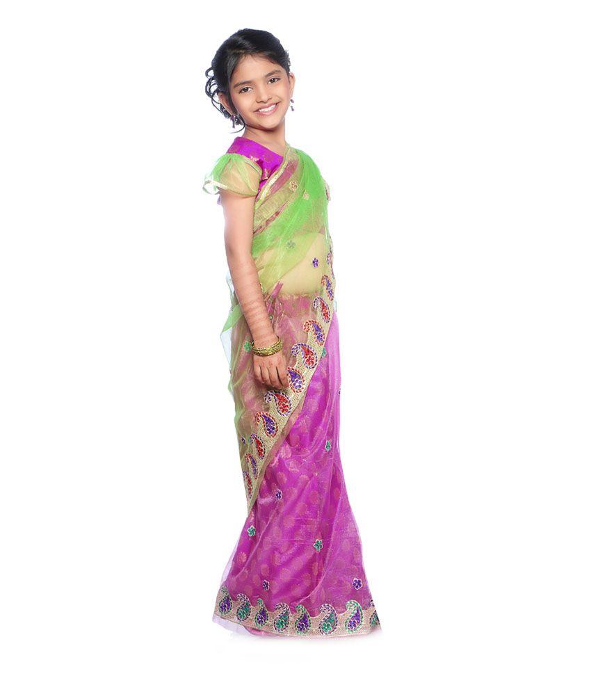 kesar pre stitched ready to wear saree buy kesar pre