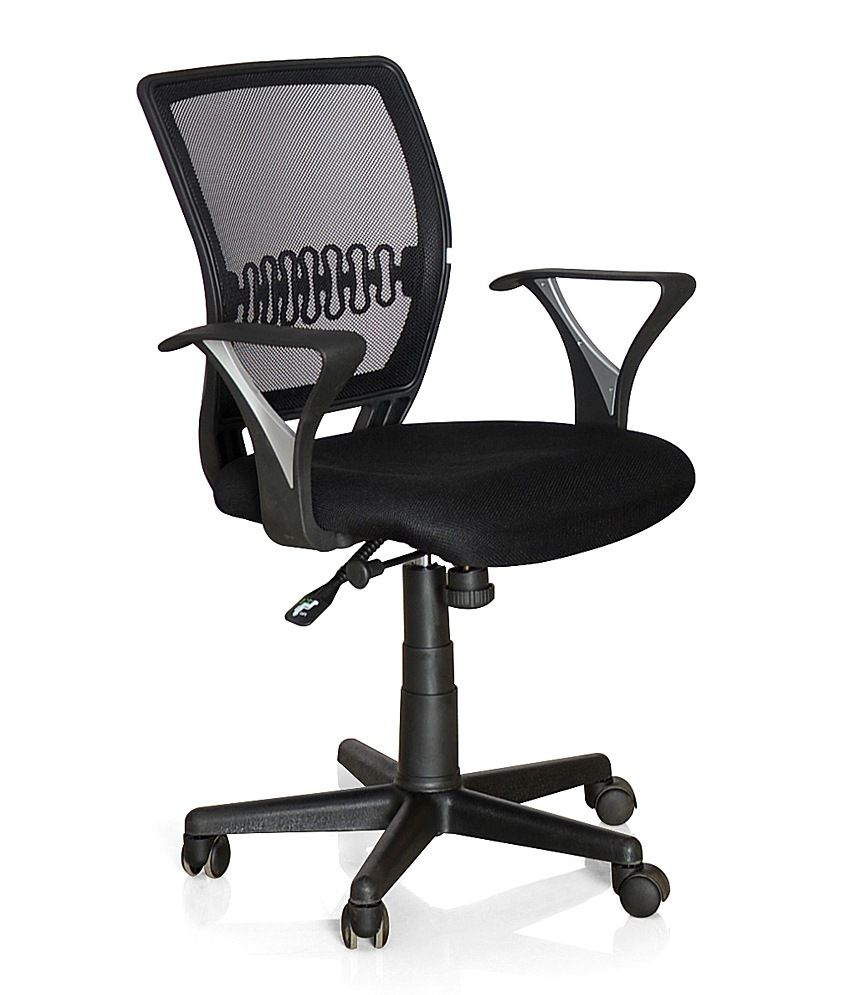 nilkamal norway office chair black buy nilkamal norway