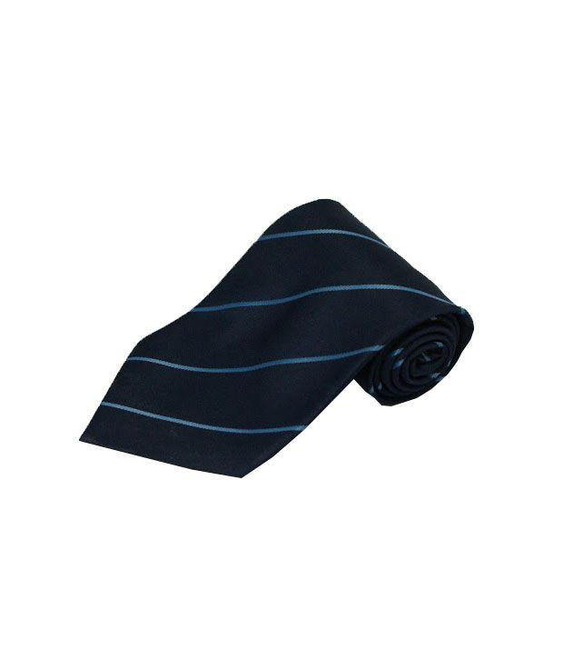 Wintex Navy Micro Fiber Formal Regular Tie