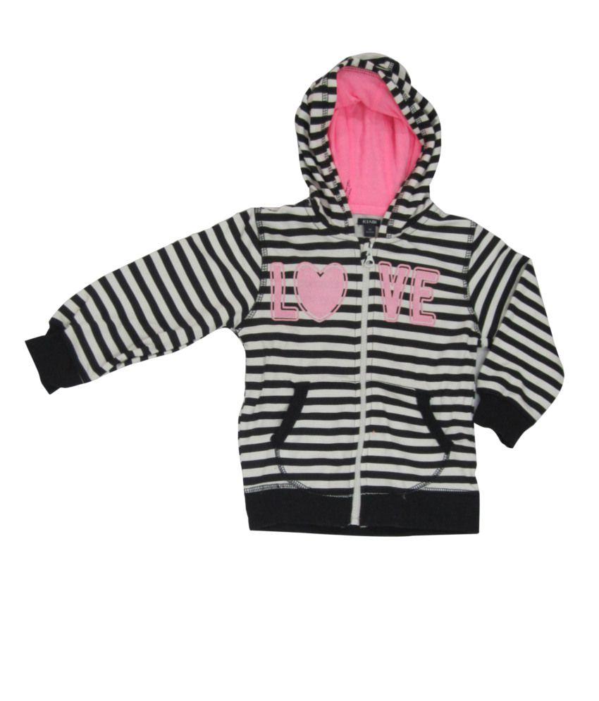 Oriel Merton Stripped Hooded Sweatshirt