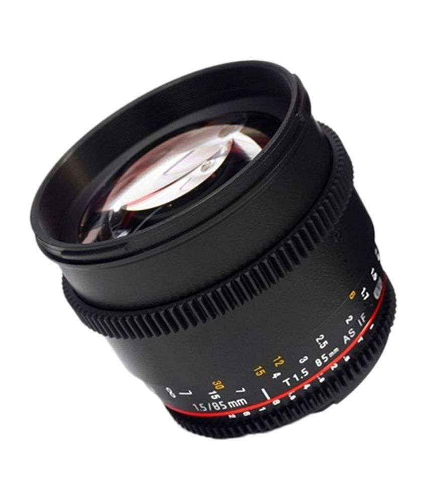 Samyang 85 mm T1.5( VDSLR ) FOR SONY NEX