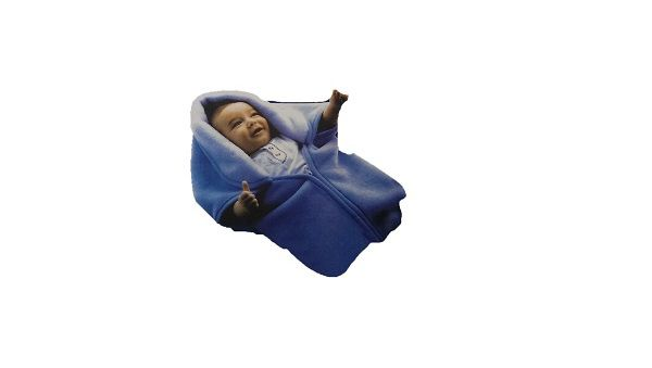 Angel's Paradise Baby Zipper Wrapper Blue
