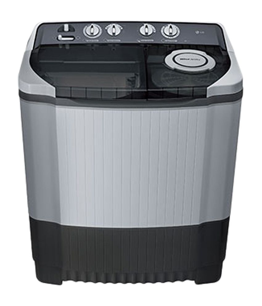 LG 7.5 Kg P8539R3SM Semi Automatic Top Load Washing Machine Dark Grey