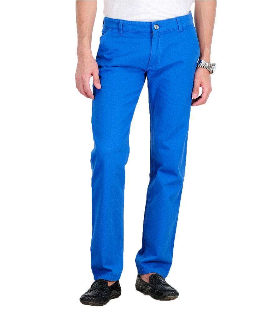 Yepme Blue Regular Casuals