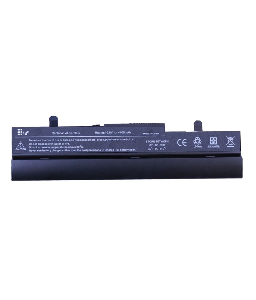 4d Asus Eee Pc 1101ha 6 Cell Laptop Battery