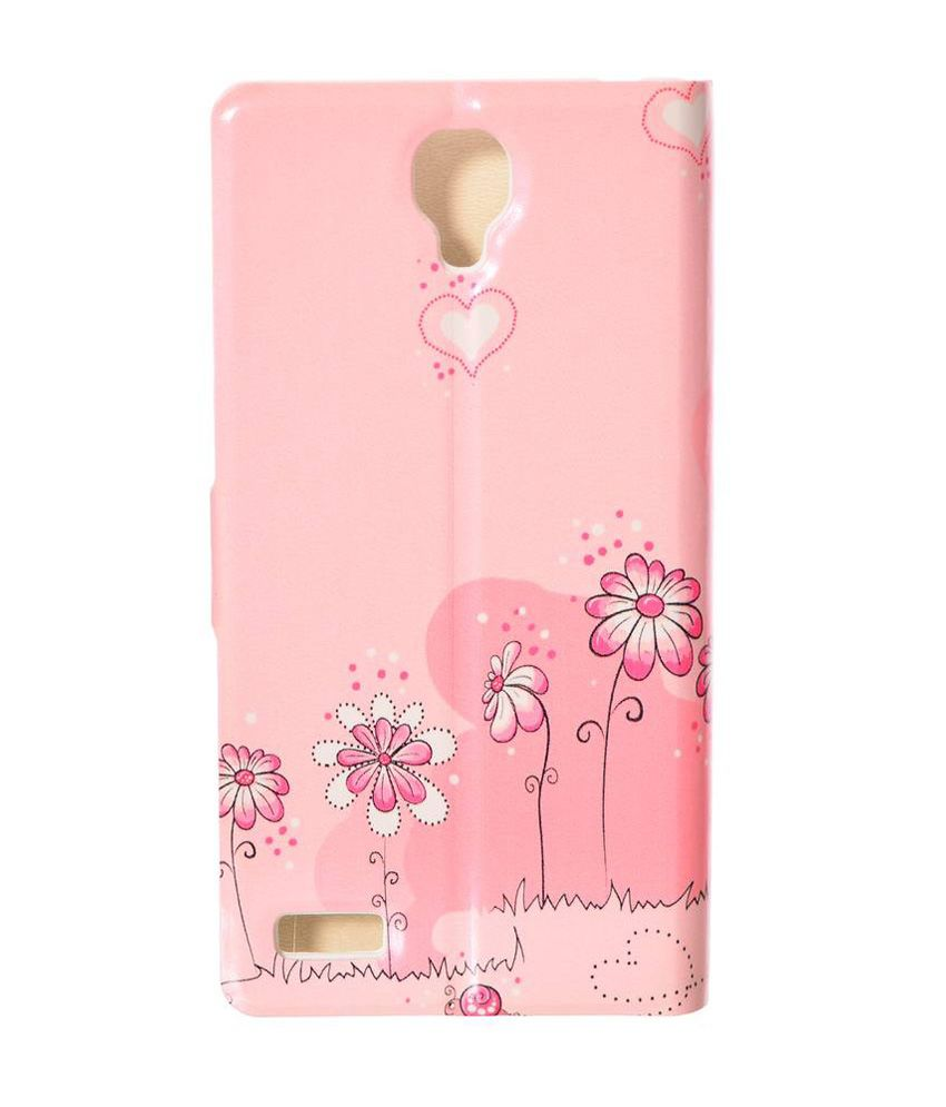 on sale 32411 cb68c Dressmyphone Flip Cover For Xiaomi Redmi Note (design 4) - Pink