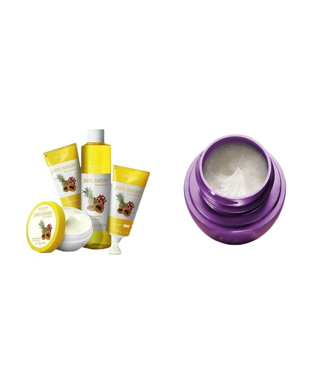 db37de470c Oriflame Pure Nature Facial Kit For Normal To Dry Skin Tropical Fruits: Buy  Oriflame Pure Nature Facial Kit For Normal To Dry Skin Tropical Fruits at  Best ...
