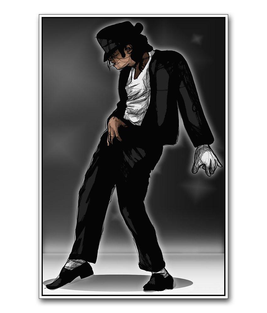 Artifa Michael Jackson Dancing Poster